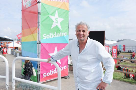 """Roel Berghuis: """"Elke vakorganisatie moet zich veel meer verdiepen in de toekomst van haar sector. Als je daar als vakbond geen visie over hebt, laat je het aan anderen over."""" (Foto Solidair)"""
